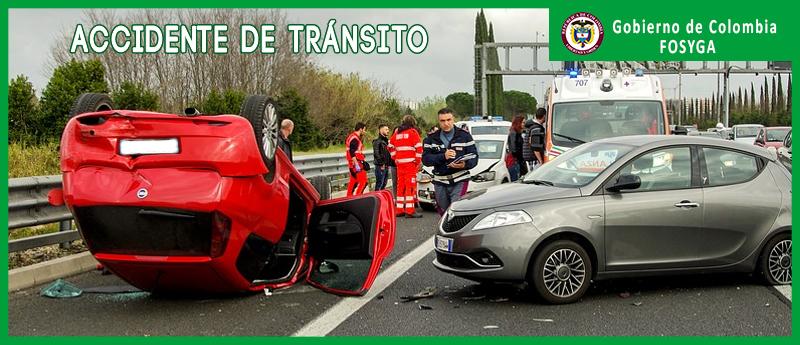 reclamo fosyga accidente de transito